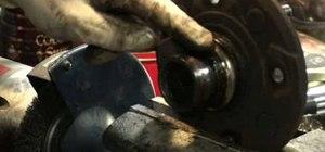 Replace a Honda Accord wheel bearings