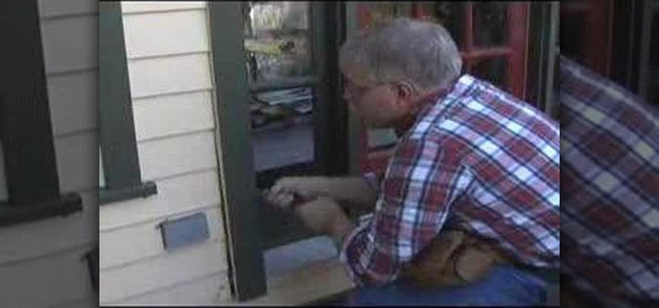 How To Remove Your Exterior Door Construction Repair Wonderhowto