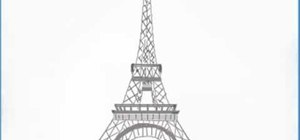 Draw the Eiffel Tower