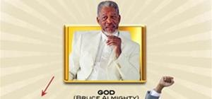 Morgan Freeman is the Center of the Universe