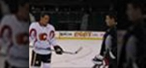 Perfect the wrist shot with NHL star Mike Cammalleri
