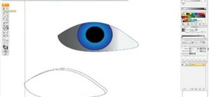 Draw a realistic eye in Illustrator