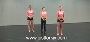 Improve your flexibility with leg extensions for dance