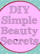diysimplebeauty secrets