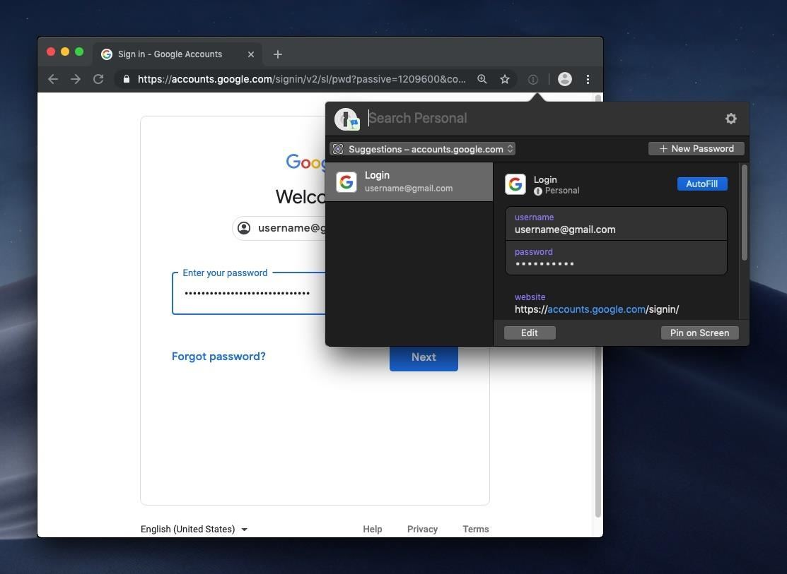 Hacking macOS: How to Dump 1Password, KeePassX & LastPass Passwords in Plaintext