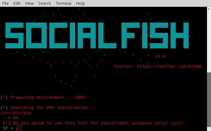 How to Use Social Fish to Spear Phish  « Null Byte :: WonderHowTo