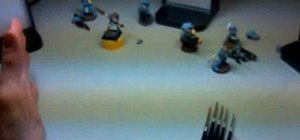 Paint a Warhammer 40K Space Marine Workstation