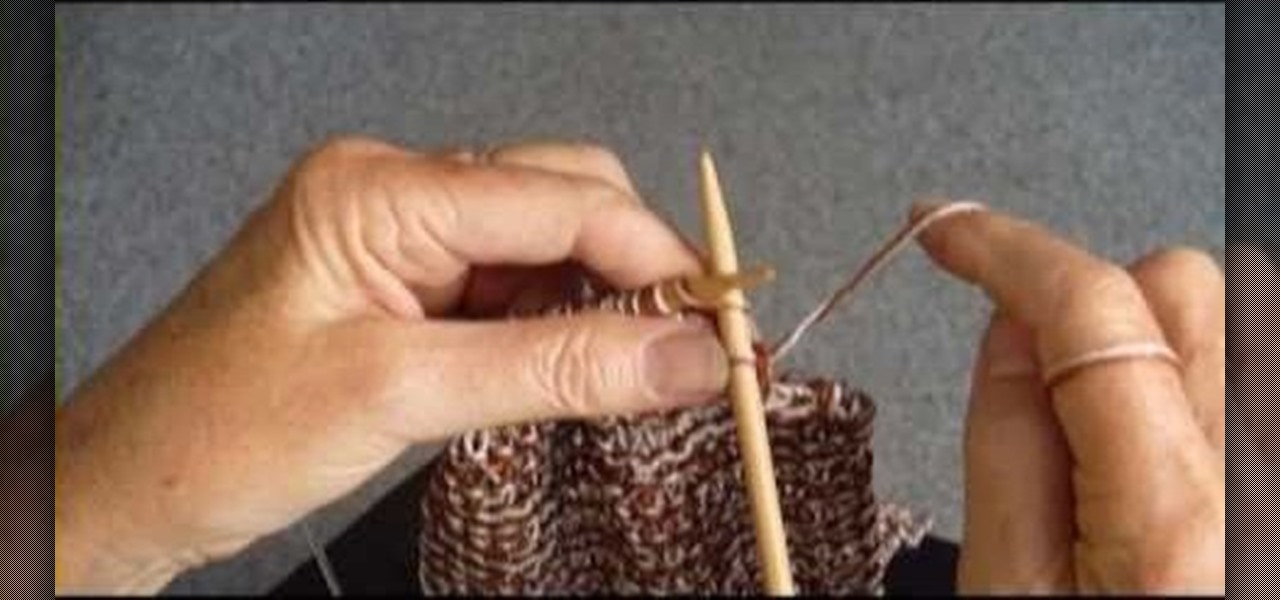 How to Knit a simple garter stitch scarf   Knitting & Crochet