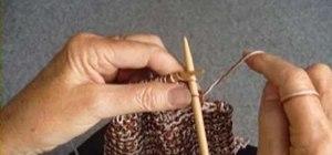 Knit a simple garter stitch scarf
