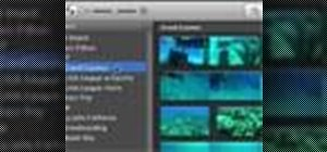 Use the iMovie video library