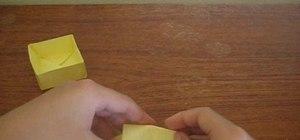 Origami a Masu Box