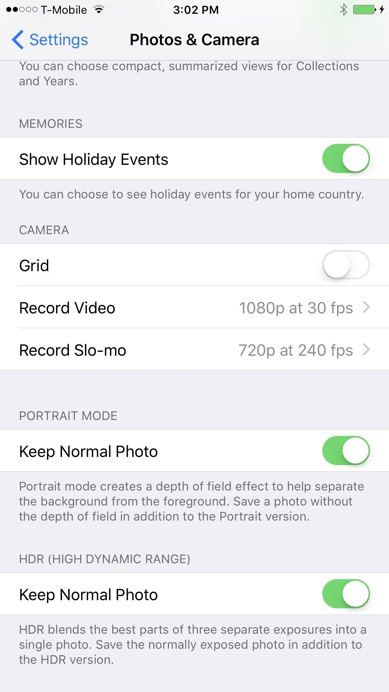 How to Stop Portrait Mode from Taking 2 Pics (& Eating Up Space) on Your iPhone 7 Plus