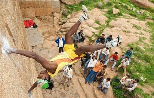 Indian Spiderman Defies Gravity (and Death)