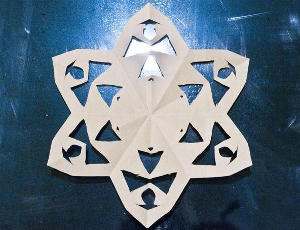 Plus How to Make a Modular Origami Intersecting Triangles Sculpture