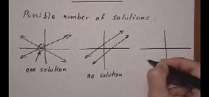 Solve a system by the elimination method