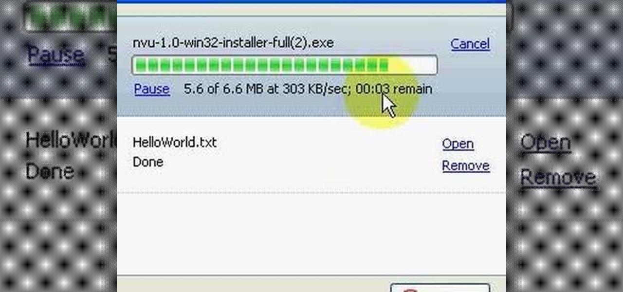 How To Install Nvu Free Html Editor Html Xhtml Css Wonderhowto