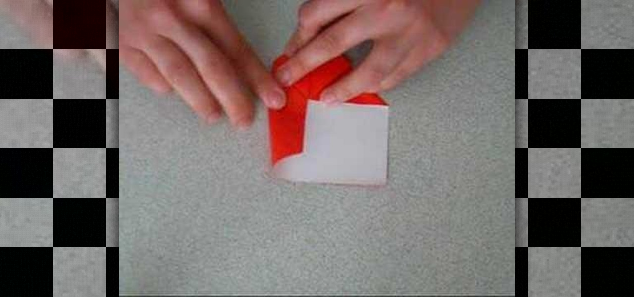 How To Origami A Heart With Rectangular Paper Origami Wonderhowto