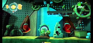 Find all of the prize bubbles on Bravery Test on LittleBigPlanet 2