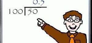 Convert percents to decimals in math
