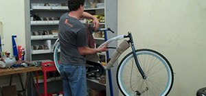 Assemble a beach cruiser bicycle, start to finish