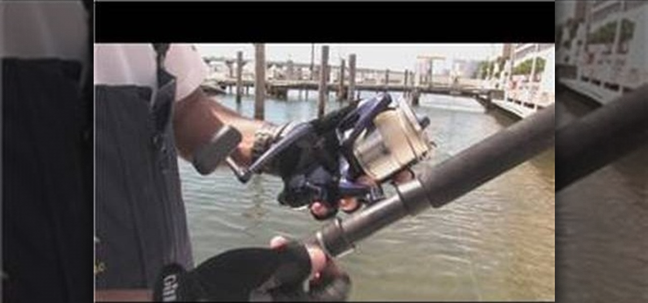How to set up a deep sea fishing pole fishing for Deep sea fishing poles