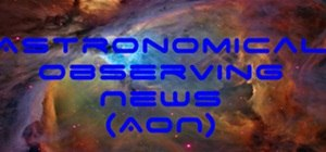 Astronomical Observing News (1/9 to 1/16)