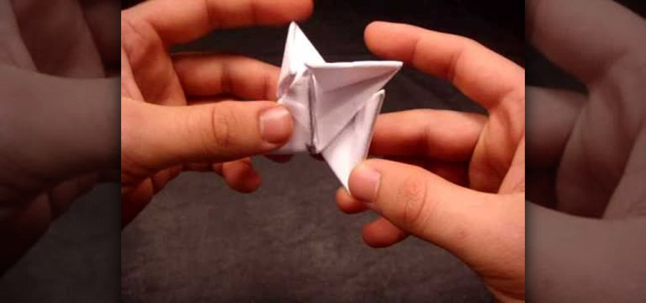 How To Make An Origami Ninja Star Shuriken Out Of Paper