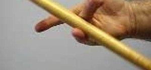 Spin drumsticks
