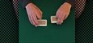 Strip shuffle a deck of playing cards for poker