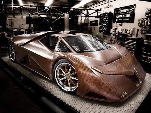 The Splinter: Car Woven Out of Wood
