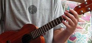 Play A minor scales on the ukulele