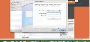 Use iChat on a Mac