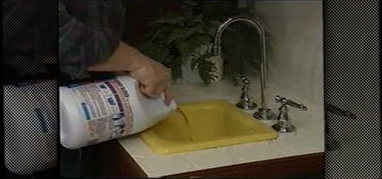 superior Home Remedies To Unclog Kitchen Sink #10: How To: Unclog a backed up kitchen sink