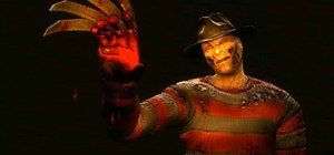 Activate the Freddy Krueger fatalities in the first DLC for Mortal Kombat 9