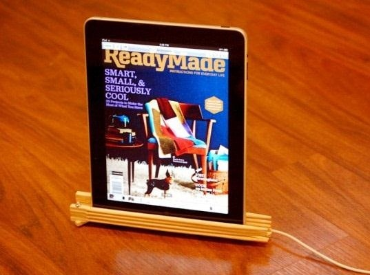 DIY iPad Stand and Stylus, Plus 8 More Ways to Recycle Old Chopsticks