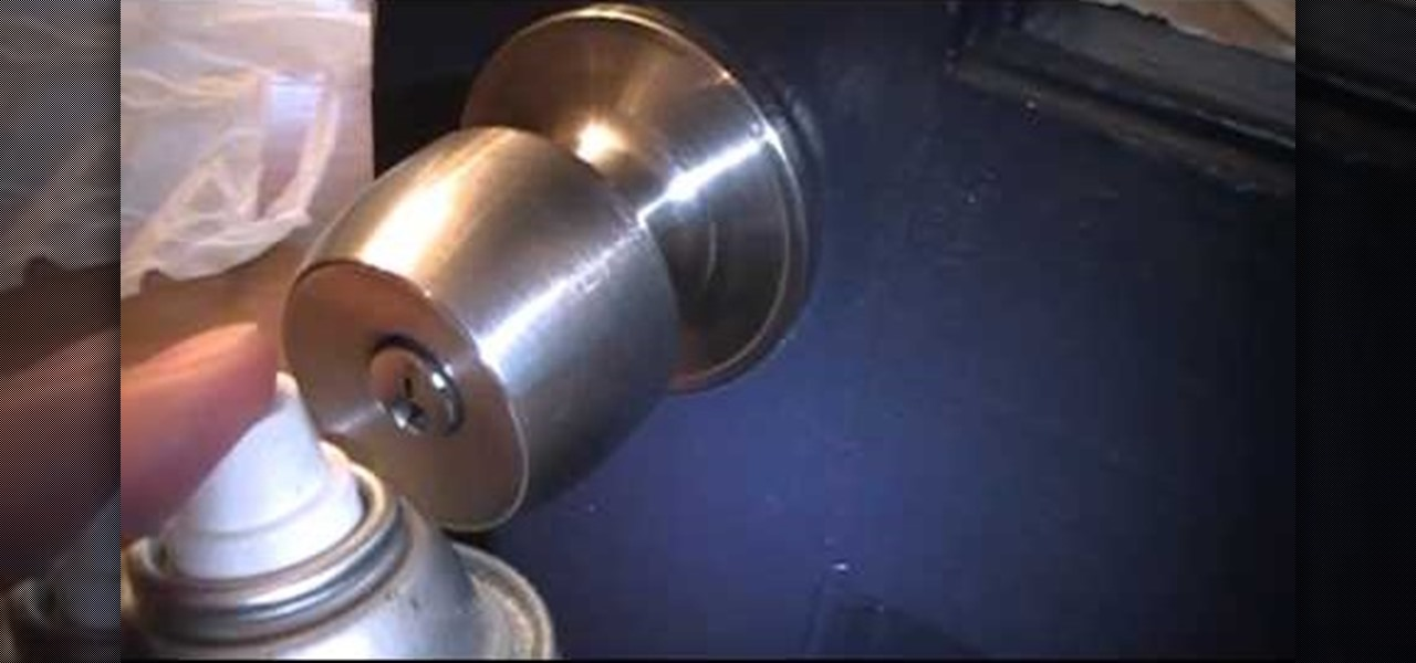 How To Fix Or Repair A Sticky Or Stuck Door Knob Keyhole