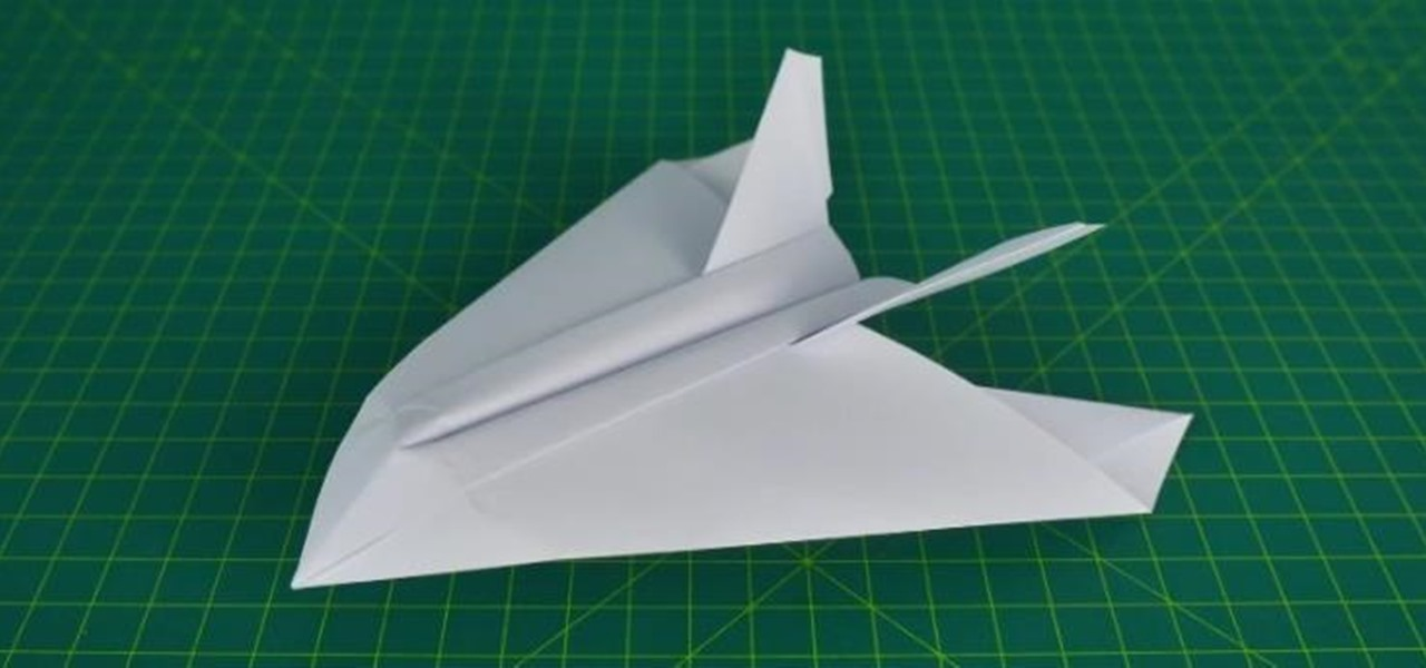 how to make a paper airplane stealth fighter 171 papercraft