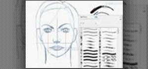 Sketch a female face