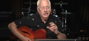 Improvise over Jazz changes using chord tones with Jeff Richman