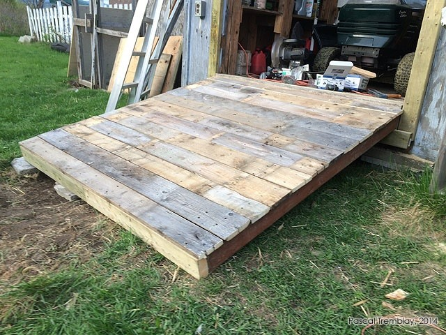How to Build a Shed Ramp - Design Wooden Shed Ramp