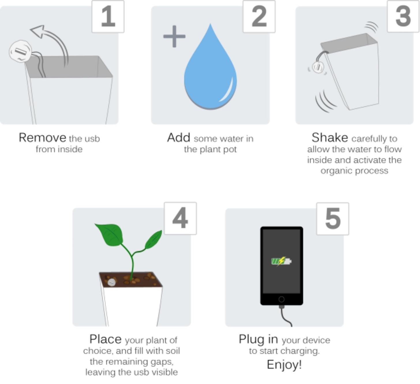 This High-Tech Pot Lets You Charge Your Phone Using a Houseplant