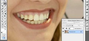 Whiten yellow teeth in Photoshop