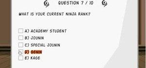 Play the Ninja Saga chunin exam (12/03/09)