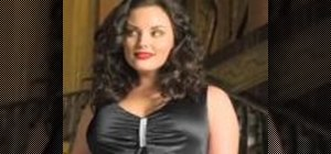 Dress fashionably for a full-figured woman