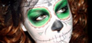Create a Dias de las Muerto look for Halloween
