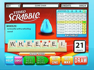 SCRABBLE Hits Casinos