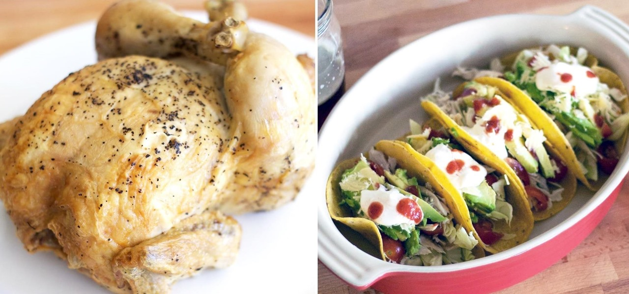 1 rotisserie chicken 3 different dinners made easy for Different meals to make with chicken