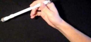 Do the Backaround to Fingerless Thumbaround pen spin