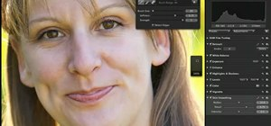 Retouch portraits with adjustment brushes in Aperture