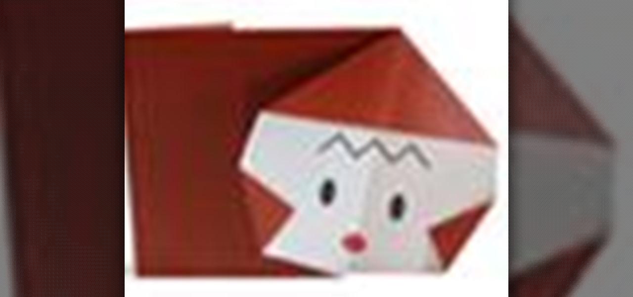 How To Origami A Monkey Japanese Style WonderHowTo
